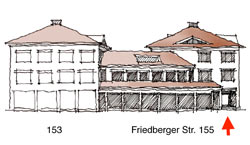 Skizze Friedberger Straße 155